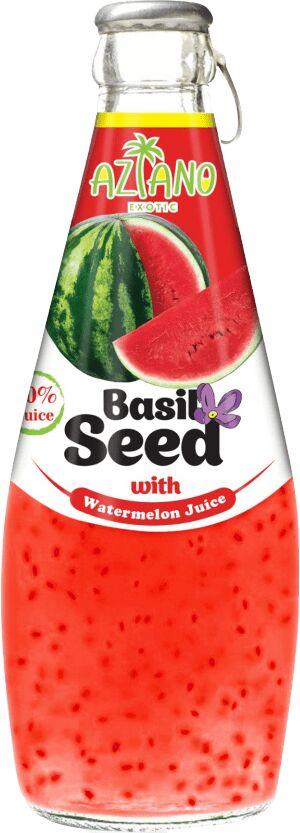 Напиток из семян базилика со вкусом арбуза 290 мл 1*24