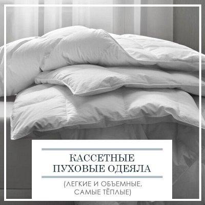 Распродажа!!! Домашний Текстиль для Дома! Новая Коллекция! — Кассетные Пуховые (Легкие и объемные, самые тёплые) — Одеяла