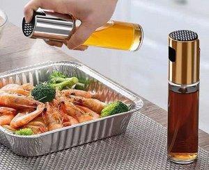 Спрейер распылитель для масла. Стекло/пластик