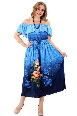 Платье-сарафан артикул 5-029 цвет 743