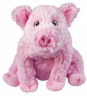 KONG игрушка для собак Comfort Kiddos Свинка 16 см