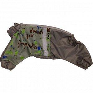 """Комбинезон-дождевик """"Хвостел"""" DOGS, мальчик, размер 8 (ДС 20, ОШ 32, ОГ 36 см)"""