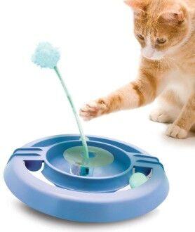 Petstages игрушка для кошек Трек-неваляшка 34 см