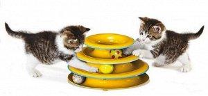 """Petstages игрушка для кошек Трек """"3 этажа"""" основание 24 см"""