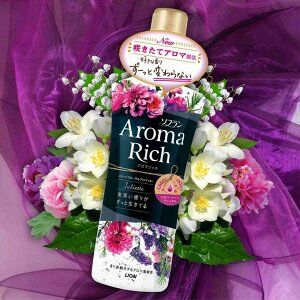 "LION ""Aroma Rich Juliette"" Кондиционер для белья - с богатым ароматом натуральных масел 520 мл"