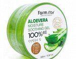 Farm Stay Aloevera Moisture Soothing Gel 100% Увлажняющий и смягчающий гель для лица и тела 300 мл