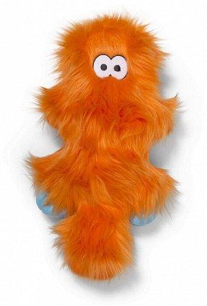 West Paw Zogoflex Rowdies игрушка плюшевая для собак Sanders 17 см оранжевая