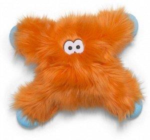 West Paw Zogoflex Rowdies игрушка плюшевая для собак Lincoln 28 см оранжевая