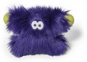 West Paw Zogoflex Rowdies игрушка плюшевая для собак Fergus 24 см фиолетовая