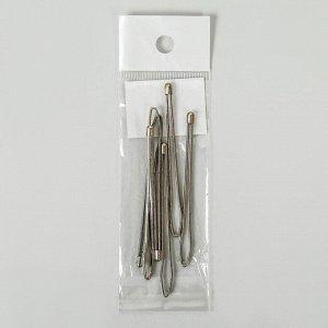 Приспособления для облегчения вдевания резинки, 7,5 ? 0,7 см, 6 шт