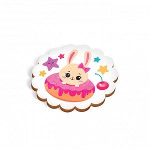 Набор для декупажа магнита «Милые зайчатки»