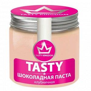 """Шоколадная Паста Tasty """"Шоколадно-клубничная"""""""