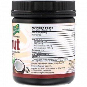Jarrow Formulas, Органическое кокосовое масло, 473 г