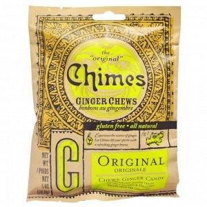 Chimes, имбирные жевательные конфеты, оригинальный вкус, 141,8 г (5 унций)