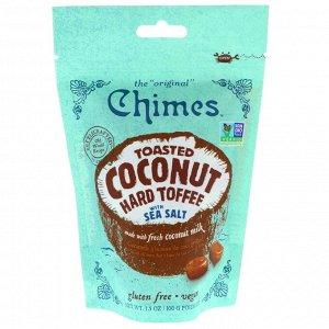 Chimes, Хрустящие кокосовые ириски с морской солью, 3.5 ж. унц. (100 г)
