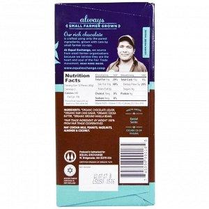 Equal Exchange, Органический темный шоколад, панамский черный, 80% какао, 80 г (2,8 унции)