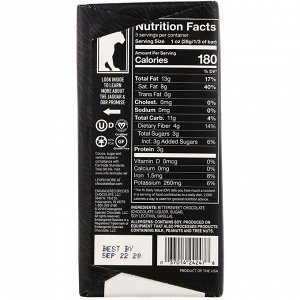 Endangered Species Chocolate, Горький шоколад с бархатистым вкусом, 88% какао, 85 г (3 унции)