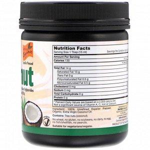 Jarrow Formulas, Органический продукт, кокосовое масло холодного отжима, 473 г