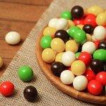 Драже арахис в шоколадной и сахарной цветной глазури