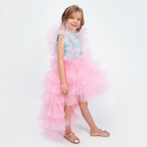 Платье со шлейфом Соль&Перец