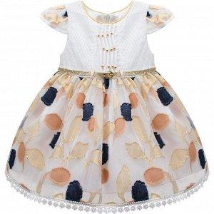 Платье Miss Bloom Exquisite для девочки комбинированный