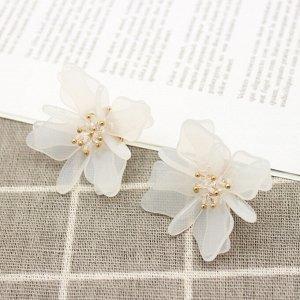 Серьги Цветок Сакуры