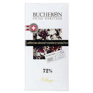 Шоколад BUCHERON VILLAGE 72% Миндаль Клюква Фисташка 100 г 1уп.х 10шт.
