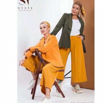 SТ-Style*⭐️Летняя коллекция! Обновлённая! — Костюмы с кюлотами — Костюмы с брюками