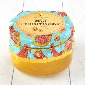 Мёд разнотравье Русский стиль 230 гр