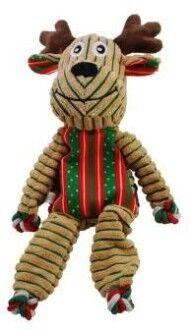 KONG Holiday игрушка для собак Floppy Knots Олень 26 см
