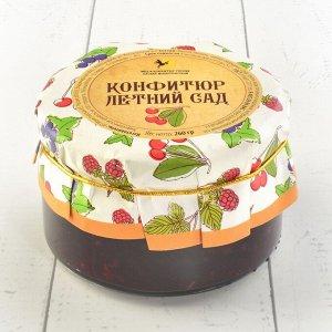 Конфитюр летний сад (вишня, малина, чёрная смородина) Русский стиль 260 гр.