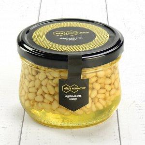 Кедровый орех в меду 230 гр.