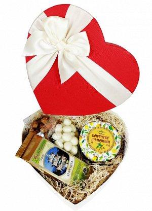Подарочный набор Для тебя №3 конфитюр лимонный, чай, драже
