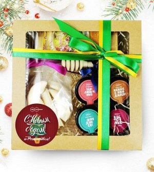 Подарочный набор С Новым годом и Рождеством. Подарочная коробка №7