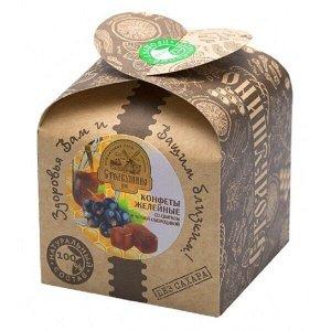 Конфеты желейные Столбушино со сбитнем и черной смородиной 180 гр.
