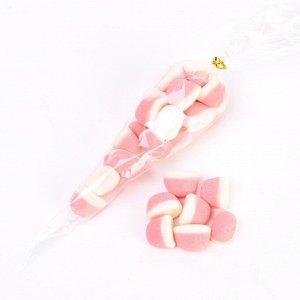 Мармелад жевательный Клубника со сливками в сахаре 150 гр.