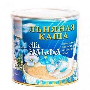 Каша льняная Эльфа моментального приготовления из белого льна Вишня 400 гр.