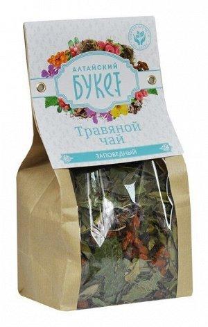Травяной чай Алтайский букет Заповедный 80 гр.