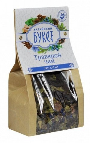Травяной чай Алтайский букет Хан Алтай 90 гр.