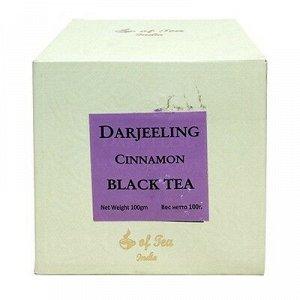 Чай чёрный листовой с корицей Darjeeling Cinnamon Black Tea 100 гр.