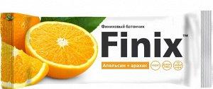 """Финиковый батончик """"Finix"""" апельсин+арахис 30г"""