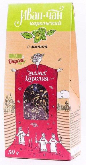 Иван-чай карельский с мятой