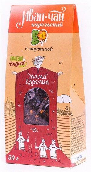 Иван-чай карельский с морошкой