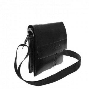 Стильный мужской планшет MMSO из эко-кожи черного цвета.