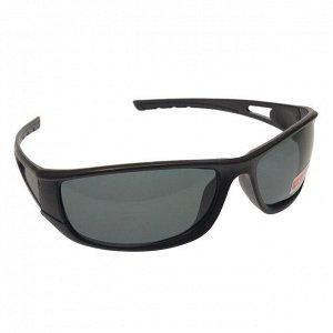 Стильные мужские очки Sette в матовой оправе с чёрными линзами.