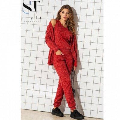 SТ-Style*⭐️Летняя коллекция! Обновлённая! — Комплекты прогулочные — Костюмы с брюками