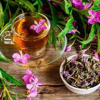 Крымские травы 💥 Кизил, полынь, мелиса и много других трав — Иван-чай — Чай