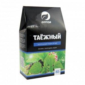 Травяной чай Таёжный (малина, смородина, бадан) Алтэя 80 гр.