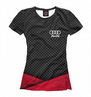 Женская футболка Audi sport 2018