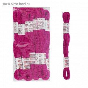 Нитки для вышивания Riolis (полушерсть), 20м, Нитки для вышивания Riolis (полушерсть), 20м, цвет 528